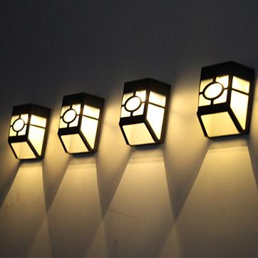 Saulės šviesos lempos tvora