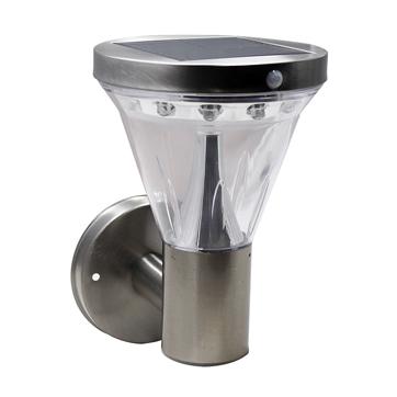 Saulės energija PIR sieninė lempa