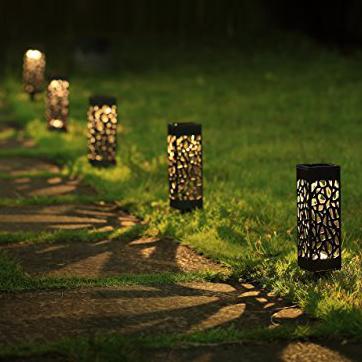 Saulės energija varomas LED sodo apšvietimas